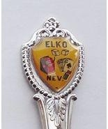 Collector Souvenir Spoon USA Nevada Elko Gambli... - $9.99