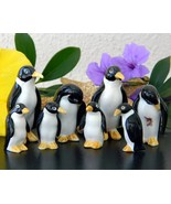 Vintage Penguin Family Two Sets Bone China Japa... - $29.95