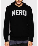 Gift for Men NERD Science Math Geeky Black Hoodie - $41.50