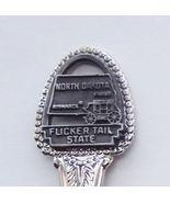Collector Souvenir Spoon USA North Dakota Flick... - $9.99