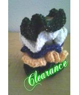 Crochet Hair Scrunchies/Set of 5 - $6.00