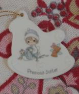 Precious Moments Ornament, Precious Sister, Sma... - $2.99