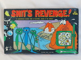 Snit's Revenge! 1980 Board Game TSR Games 100% ... - $76.11