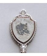 Collector Souvenir Spoon USA Montana Wolf Point... - $9.98