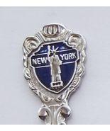 Collector Souvenir Spoon USA New York Statue of... - $8.99