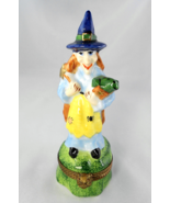 Limoges Box  - Halloween - Standing Witch with ... - $95.00
