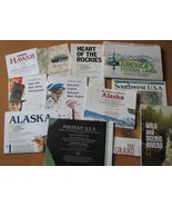 12 Maps Grand Canyon Alaska Hawaii New York Nat... - $13.43