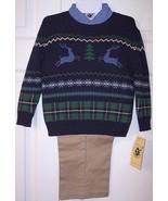 NWT Good Lad Boy's 3 Pc. Christmas Holiday Rein... - $18.99