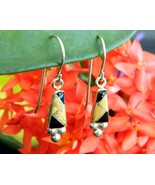 Vintage_qt_quoc_southwest_925_sterling_silver_earrings_inlaid_pierced_thumbtall