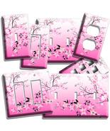 JAPANESE PINK SAKURA CHERRY BLOSSOM LIGHT SWITC... - $7.99 - $16.79