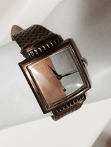 BENRUS 1940'S MEN'S WATCH WITH COPPER & SILVER ... - $49.99