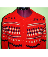 Ugly Christmas 70's Vintage Woman's Sweater - $11.95