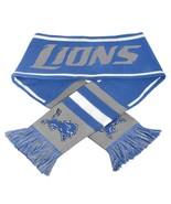 Detroit Lions NFL Blue Winter Knit Scarf New Wi... - $23.75