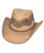 Bullhide Worth It Leather Cowgirl Hat Aussie Cr... - $88.00