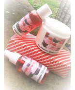 raspberry chocolate bath and body gift set, sho... - $20.00