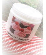 raspberry chocolate shea body lotion, skin care... - $8.00