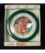1998 Coca-Cola Santa Decorator Clock with Origi... - $8.00