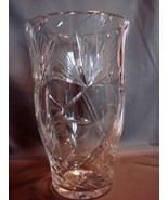 Stunning 10 Inch Tall Crystal Vase~ Inspired by... - $54.00