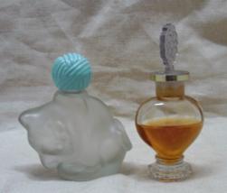 Two Vintage Perfume Bottles // Vintage Miniatur... - $6.00