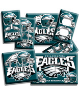 PHILADELPHIA EAGLES LIGHT SWITCH WALLPLATE OUTL... - $7.99 - $17.59