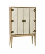 NATURAL LIMED OAK BAR CABINET, Bi Fold Doors, M... - $5,569.00