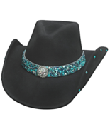 Bullhide Dancin Crazy Wool Cowgirl Hat White Bl... - $72.00