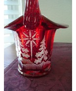 Fenton Star Bright on Ruby Basket 2002 - $64.95