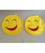 Smiley Face Red Mouth Laughing Hot Pads Kitchen... - $7.20