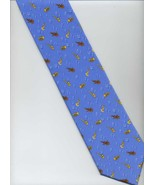 CASANOVA VENEZIA Tie ~ Light Blue, Gold ~ Music... - $24.00