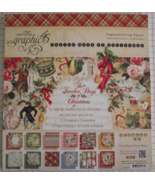 Graphic 45 12 Days of Christmas paper pad 24 DS... - $39.99