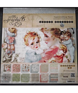 Graphic 45 Little Darlings paper pad 24 DS shee... - $199.99