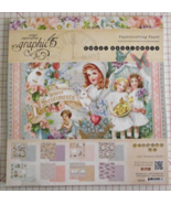 Graphic 45 Sweet Sentiments paper pad 24 DS she... - $39.99