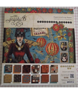 Graphic 45 Steampunk Spells paper pad 24 DS she... - $49.99