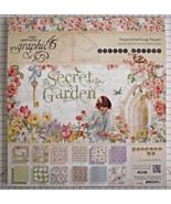 Graphic 45 Secret Garden paper pad 24 DS sheets... - $119.99