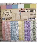 Graphic 45 Secret Garden paper pad 36 sheets 6x... - $99.99