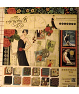 Graphic 45 Couture paper pad 24 DS sheets 8x8 n... - $69.99