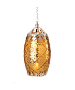 Amber Filigree Candle Lantern - $21.00