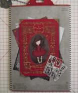 Santoro's Gorjuss Poppy Wood A4 decoupage card ... - $19.99