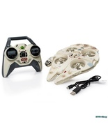 Millennium Falcon Flying Drone Air Hogs Star Wa... - $150.95