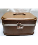 Vintage Cosmetic Case Makeup Travel Luggage Tra... - $29.97