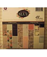 Prima Something Blue 6x6 paper pad 48ct 3 of 16... - $24.99