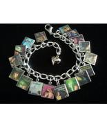 NANCY DREW Book Covers Charm Bracelet - $23.99