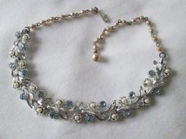 Vintage Rhinestone Lisner Necklace (EUC) #231 -... - $40.00
