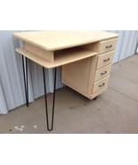 Danish Modern Desk Mid Century Vintage modern e... - $499.99
