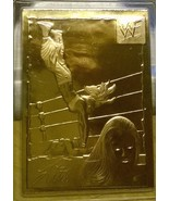 2000 WWF GOLD CARDS LITA  22 KT AUTHENTICATED ... - $6.99