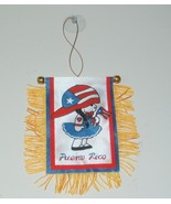 MINI BANNER PUERTO RICO GIRL CAR MIRROR DECORAT... - $5.99
