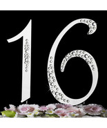 16th Birthday Cake Toppers Sparkle Crystal Cake... - $25.95