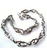 SSN0375  19mm Shiny Stainless Steel Double Link... - $29.99