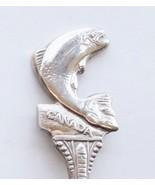 Collector Souvenir Spoon Canada BC Salmon Arm F... - $14.99
