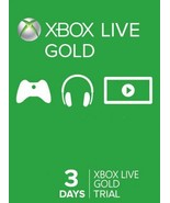 3-day{72 hrs} Xbox 360/ONE Live trial Gold Memb... - $3.87